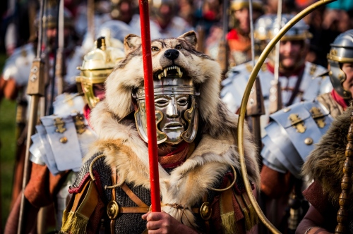 auf den Römerspuren