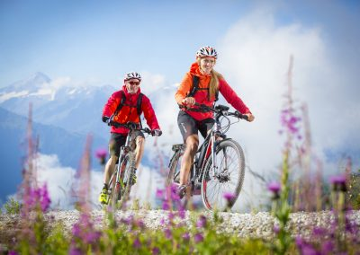 E-Mountainbiken+im+Zillertal