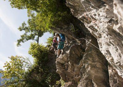 Klettersteig+im+Zillertal+-+Abenteuer+für+die+ganze+Familie