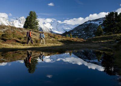 Herbstwanderung zum Arbiskogel, Zillertaler Alpen, Tirol, Österreich