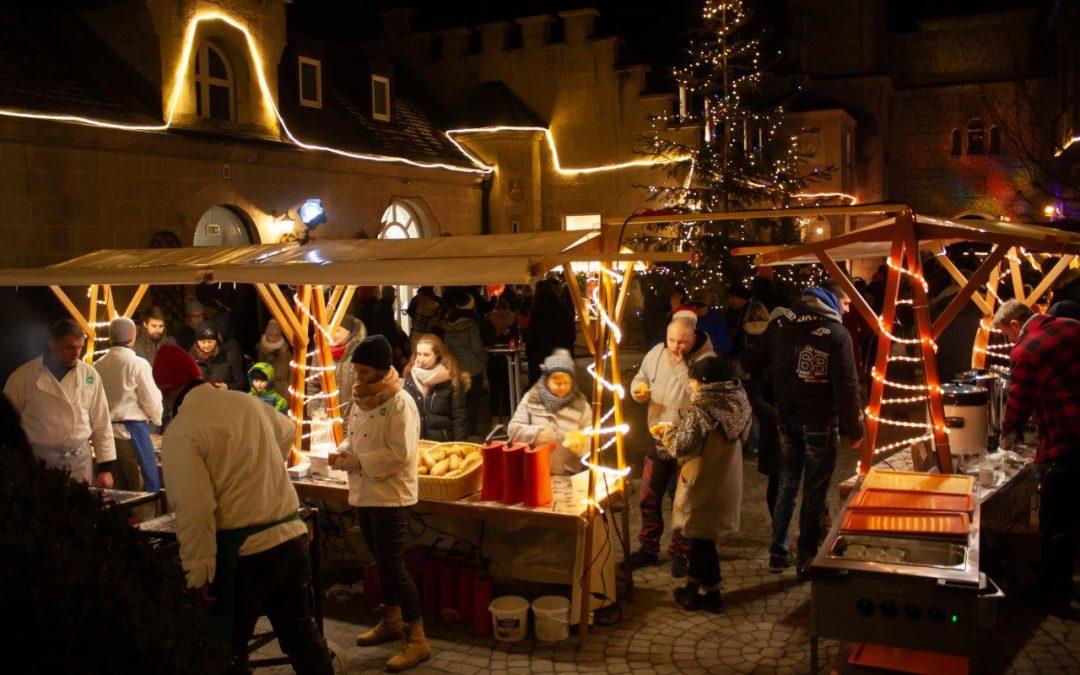 weihnachtliches Burgfest am Starnberger See