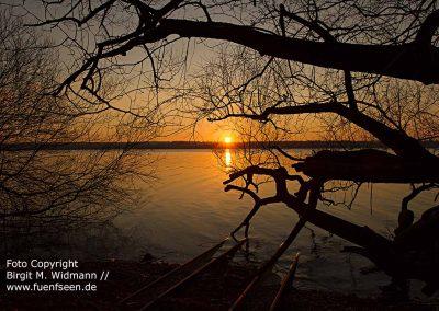 Ammersee Sonnenuntergang