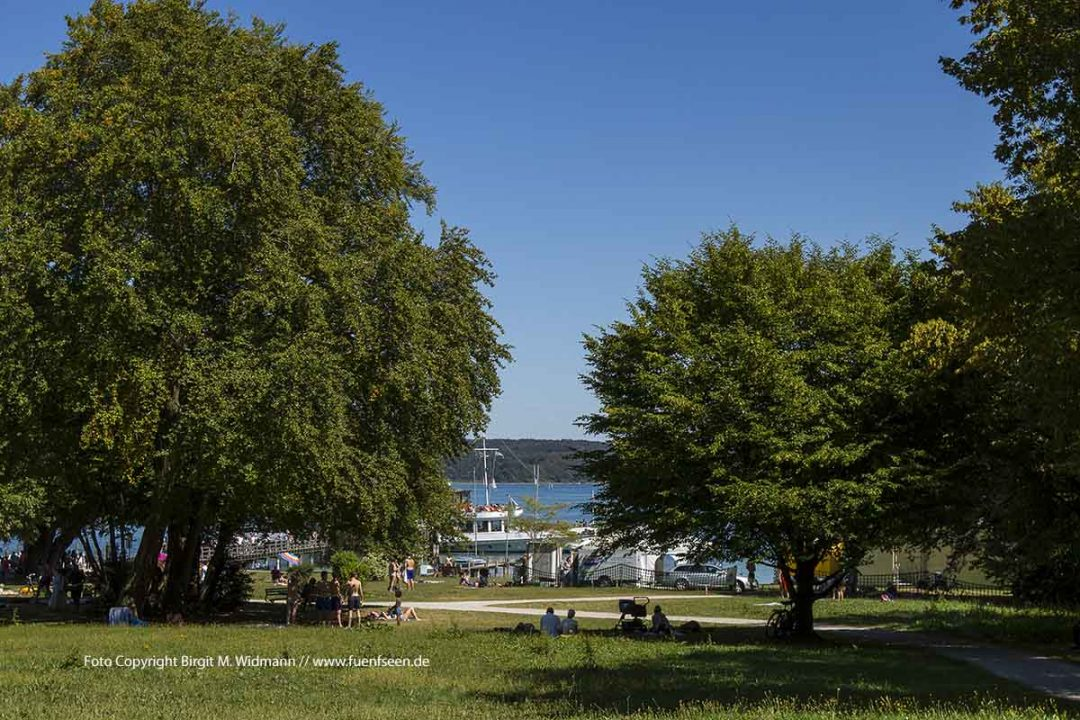Utting am Ammersee Fünfseenland Region StarnbergAmmersee